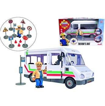 Autobuzul lui Trevor cu figurina