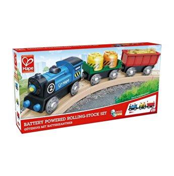 Tren marfar cu 2 vagoane