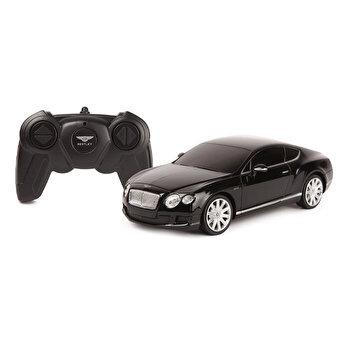 Masina cu telecomanda Bentley Continental GT, negru, scara 1 la 24
