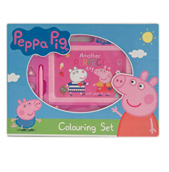Tabla magnetica pentru desen Peppa Pig, 33x34.5x6.5 cm