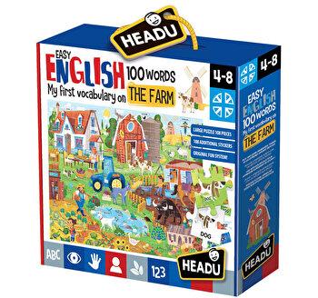 Puzzle Engleza nivel simplu - 100 cuvinte - Ferma