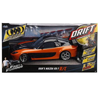 Masinuta cu telecomanda Fast & Furious RC Drift Mazda RX-7 1:11