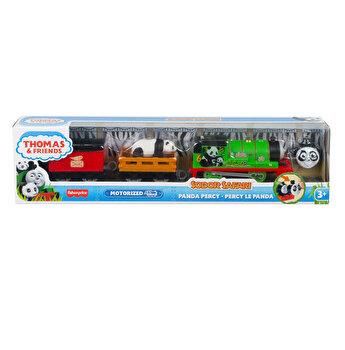 Thomas - Locomotiva motorizata safari, Panda Percy