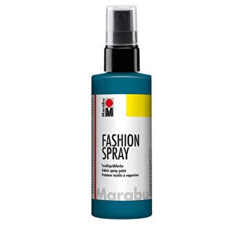 Vopsea spray pentru materiale textile, 50 ml, Albastru Petrol