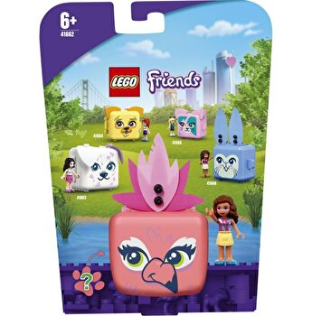 LEGO Friends - Cubul flamingo al Oliviei 41662