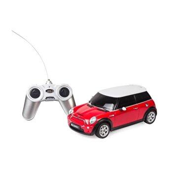 Masina cu telecomanda Minicooper, rosu, scara 1 la 18