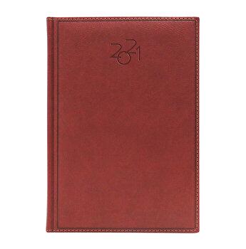 Agenda Dakota, datata A5, coperta maro roscat
