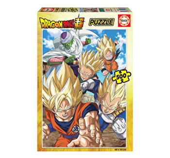Puzzle Dragon Ball Super, 500 piese