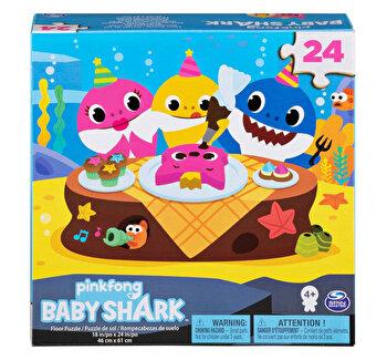 Puzzle de podea Baby Shark, 24 De Piese,61X46 cm