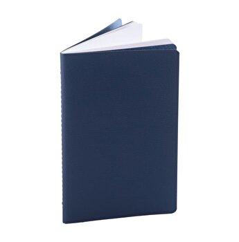 Notes Pastel, 12.5 x 20 cm, hartie alba velin, Albastru