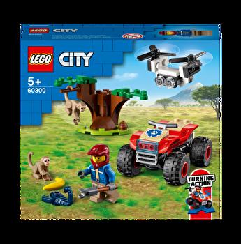 LEGO City - ATV de salvare a animalelor salbatice 60300