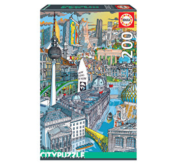 Puzzle Berlin, Citypuzzles, 200 piese