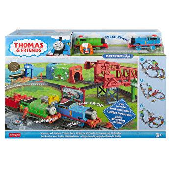 Thomas & Friends - Set motorizat Aventuri in Sodor
