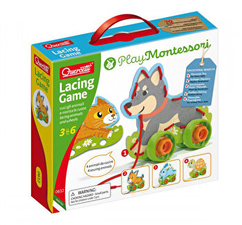 Joc cu sireturi Montessori