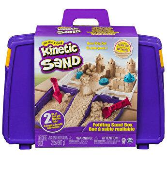 Kinetic Sand, cutie cu accesorii si maner