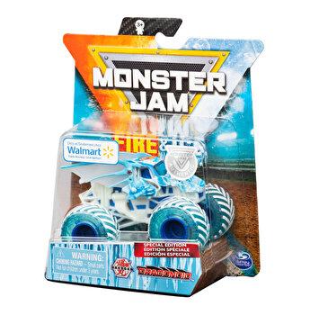 Monster Jam, macheta metalica Fire and Ice - Persoajul Bakugan Dragonoid