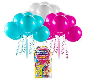 Bunch O Baloons - Set party baloons refill Roz/Bleu/Alb