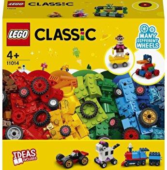 LEGO Classic, Caramizi si roti 11014