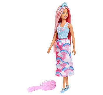 Barbie Dreamtopia, set papusa cu perie