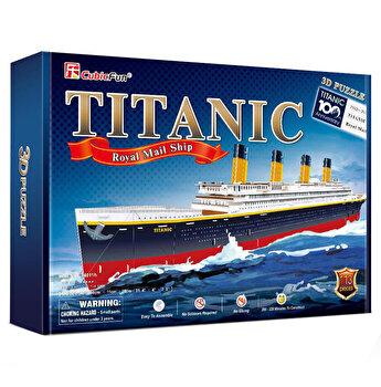Puzzle 3D - Nava Mare Titanic, 113 piese