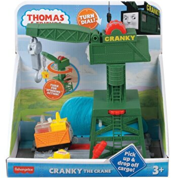 Thomas & Friends - Set motorizat Macaraua Cranky