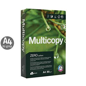 Set Hartie Multicopy Zero, A4, 80 g, 500 coli/top, 5 buc.