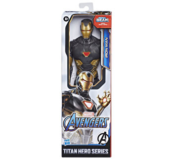 Avengers, Figurina Endgame Titan Hero - Gold Iron Man