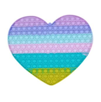 Jucarie Pop It Now - Inima 2, multicolor