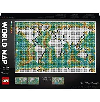 LEGO ART - Harta lumii 31203