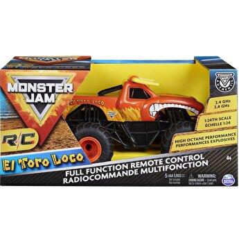 Masinuta Monster Jam RC , El Toro Loco, scara 1 la 24