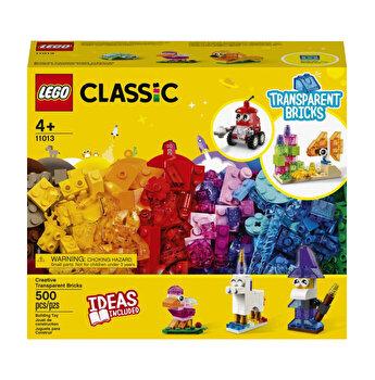 LEGO Classic - Caramizi transparente creative 11013