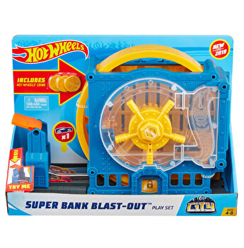 Cursa extrema - Super Bank Blast Out, Hot Wheels City