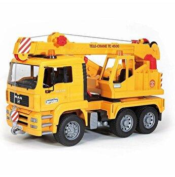 Jucarie Bruder, Construction - Camion Man Tga cu macara