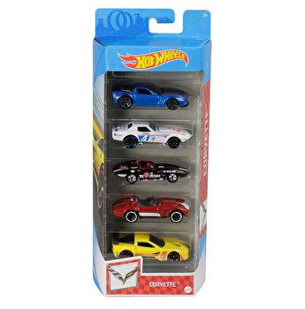 Set 5 masini, Hot Wheels Corvette