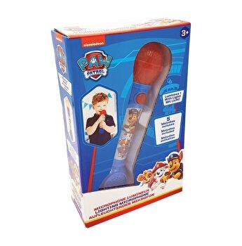 Microfon cu lumini si efecte sonore, Paw Patrol