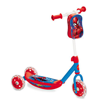 Trotineta 3 roti My First Scooter - Ultimate Spider-Man + ghiozdanel