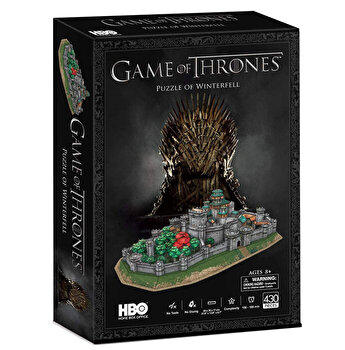 Puzzle 3D - Game Of Thrones - Winterfell, 430 piese