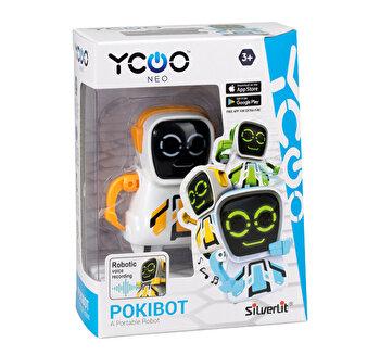 Robot electronic Pockibot, portocaliu