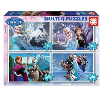 Puzzle Multi Frozen, 50-80-100-150 piese