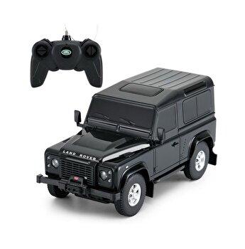 Masina cu telecomanda Land Rover Defender, negru, scara 1 la 24