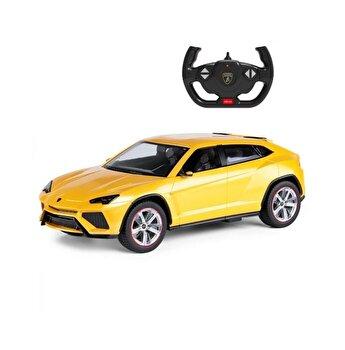 Masina cu telecomanda Lamborghini Urus, galben, scara 1 la 14