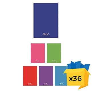 Set 36 caiete Notte School, A4, dictando, 80 file