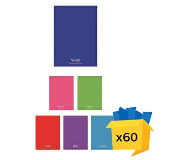 Set 60 caiete Notte School, A4, matematica, 40 file