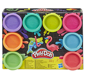 Play-Doh, Set 8 Cutii Neon