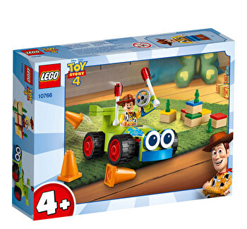 LEGO Toy Story 4, Woody si RC 10766