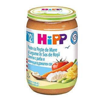 Meniu paste cu PeSte si legume 220g HiPP poza