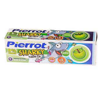 Pasta de dinti pentru copii Sharky 0% Flour PIERROT 75ml poza