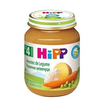 Piure amestec de legume, 125gr, HiPP poza