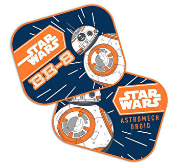 Set 2 parasolare auto Star Wars - BB8