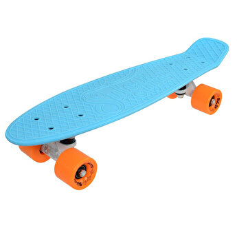 Skate Penny SLV Dolce 22 inch, bleu-portocaliu